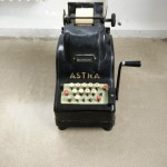 Old-school Adding Machine Decoration