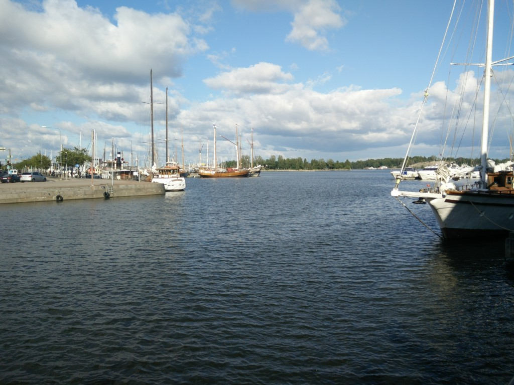 Helsinki Harbor Near The Venue