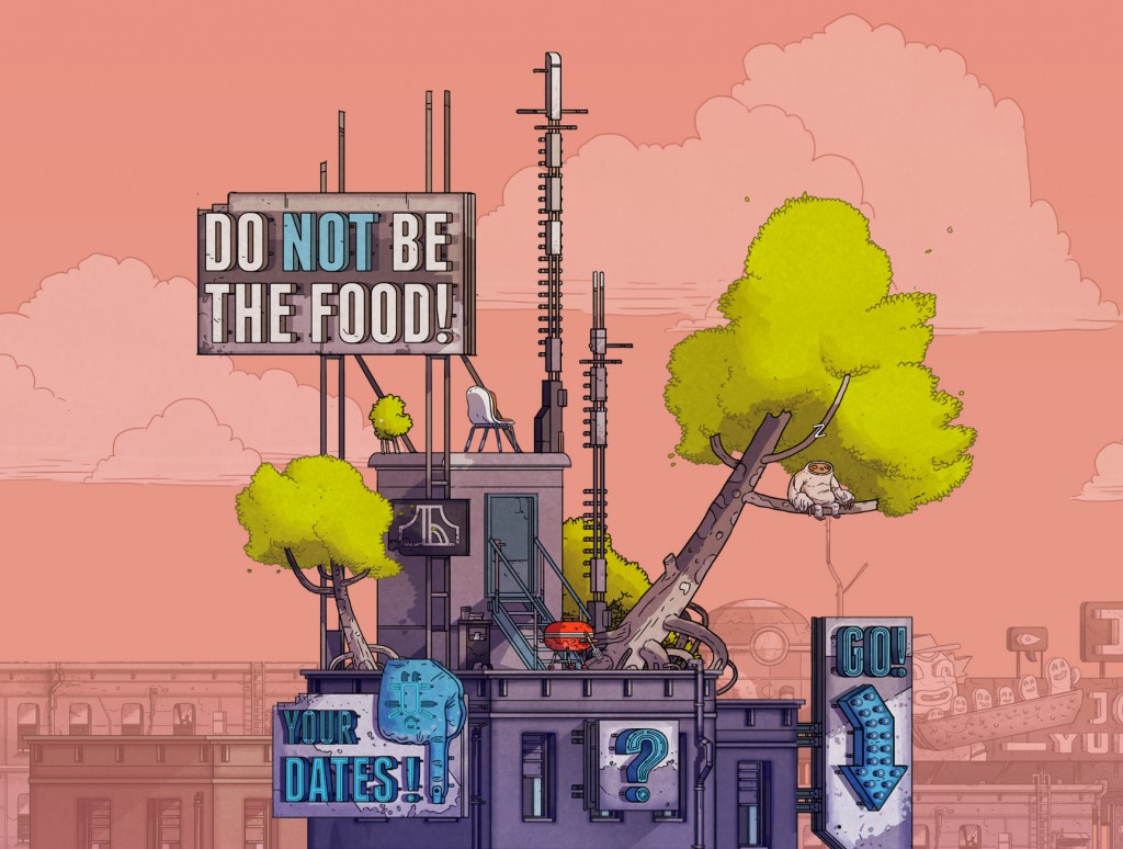 DO NOT BE THE FOOD!