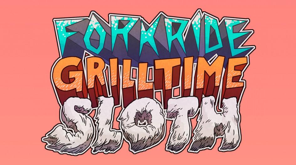 ForkRideGrilltimeSloth