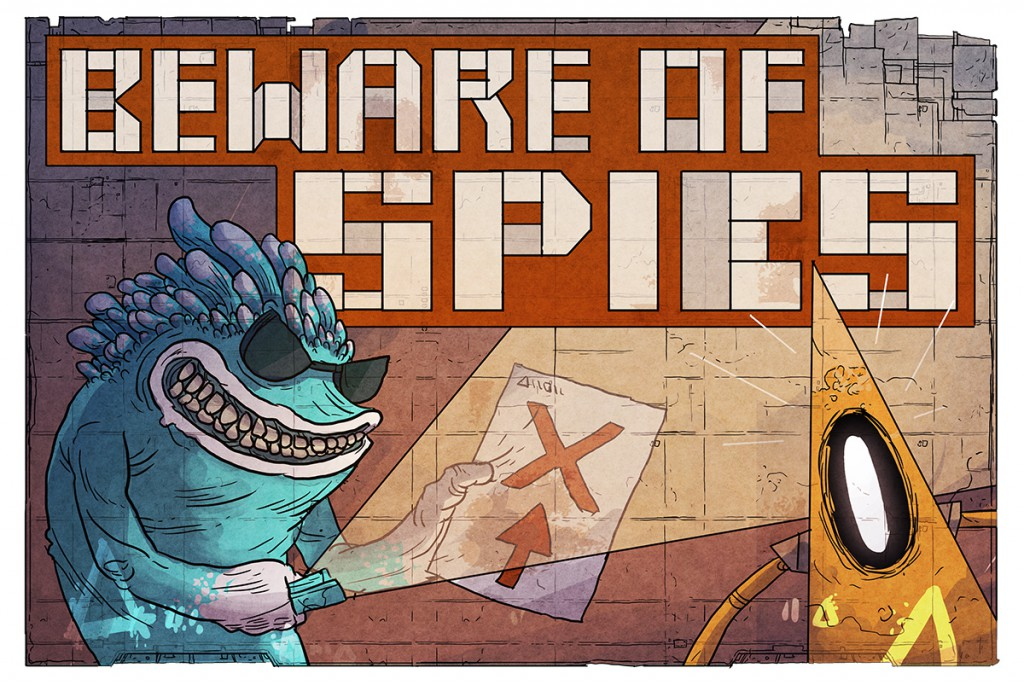 Beware Of Spies